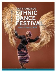 San Francisco Ethnic Dance Festival - World Arts West