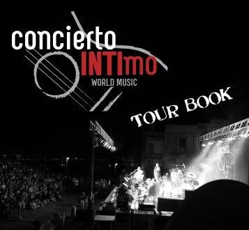 Tour Book - Concierto Intimo