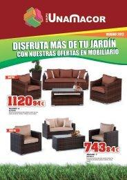 cat mobiliario de jardín mayo 2012.indd - Grupo Unamacor