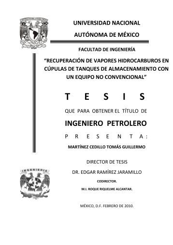 capítulo v evalución técnica económica - UNAM