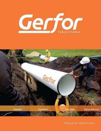 Manual de Infraestructura - tuberia pvc gerfor, gricol griferia, sika ...