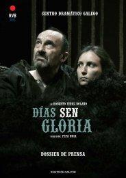 Dossier do espectáculo - Centro Dramático Galego