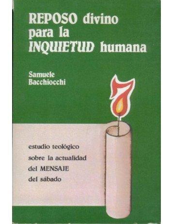 reposo divino para la inquietud humana - Iglesia Adventista del ...