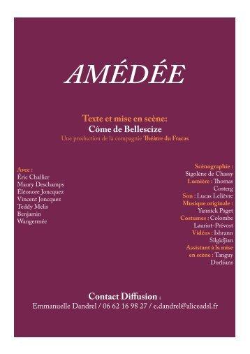 Dossier du spectacle - Amédée