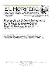 Biblioteca Digital | FCEN-UBA | Césari, C.; Domínguez Alonso, P ...