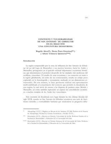 CONTEXTO Y VULNERABILIDAD DE SAN ANTONIO DE ...