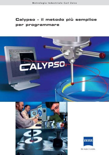 CalypsoIl software Calypso, prodotto dalla Carl Zeiss, è un software ...
