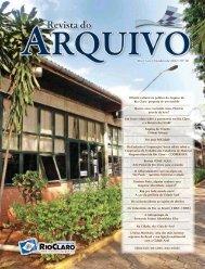 Revista do Arquivo nº10 - Arquivo Público e Histórico do Município ...