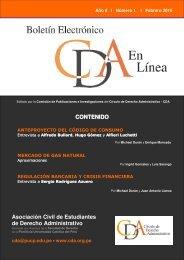 CONTENIDO Asociación Civil de Estudiantes de Derecho ...