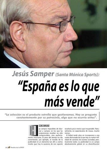 Entrevista Samper.pdf - Real Federación Española de Fútbol
