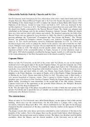 Itinerary 1: Chiesa della Natività (Nativity Church ... - Comune di Portici