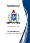 la federación deportiva policial ecuatoriana - Fedepoe - Page 2