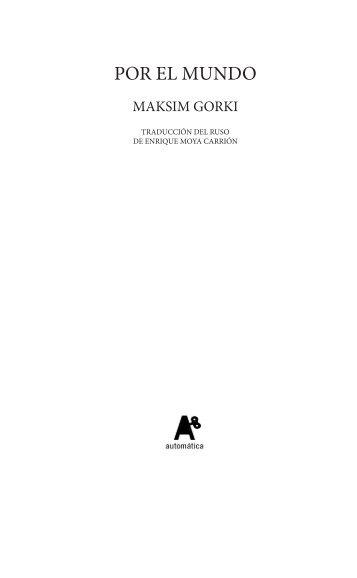 POR EL MUNDO - Automática Editorial