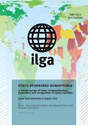 STATE-SPONSORED HOMOPHOBIA