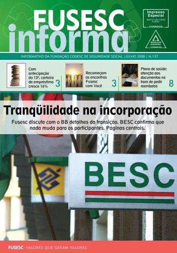 Jornal Fusesc Informa n. 137 (julho)