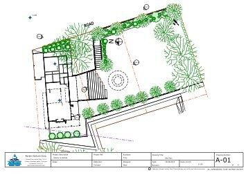 Hatoru no Estate Landscape plans