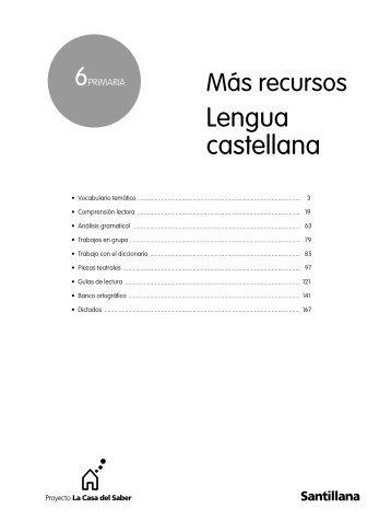 Lengua castellana - Recursos para nuestras aulas 2.0