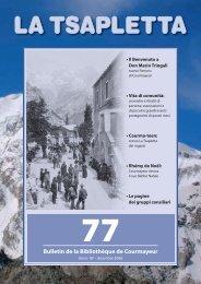 Bulletin de la Bibliothèque de Courmayeur - Comune di Courmayeur