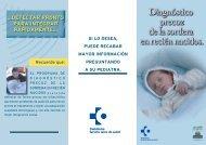 Diagnóstico precoz de la sordera en recién nacidos - Osakidetza