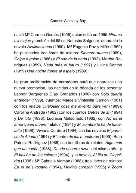 Muestrario de narradoras hispanoamericanas del siglo XX: mucho ...