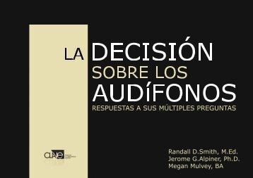 La decisión sobre los audífonos. Respuestas a sus múltiples ... - Clave