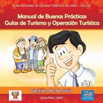 Guías de Turismo y Operación Turística - Ministerio de Comercio ...
