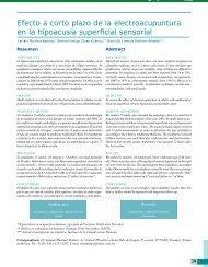 Efecto a corto plazo de la electroacupuntura en la hipoacusia ...