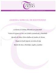 MENÚ de BODA 1 (.pdf) - Catering Toledo