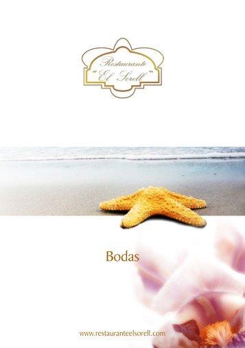 menu bodas sorell.indd - Restaurante El Sorell