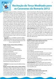 Recitação do Terço Meditado para as Caravanas da ... - SSVP Brasil