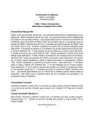 Introducción al Judaísmo Rabino Juan Mejía ... - Kol Tuv Sefarad