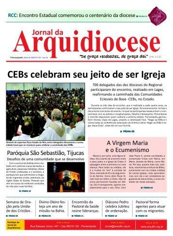 Jornal 134 - Maio 2008.p65 - Arquidiocese de Florianópolis