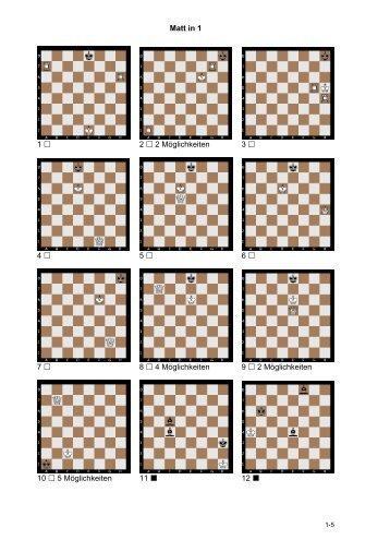 Bauerndiplom Matt in 1 - Schachclub-ostfildern.de