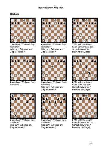Bauerndiplom Aufgaben - Schachclub-ostfildern.de