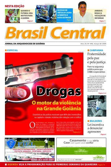 O motor da violência na Grande Goiânia - Arquidiocese de Goiânia