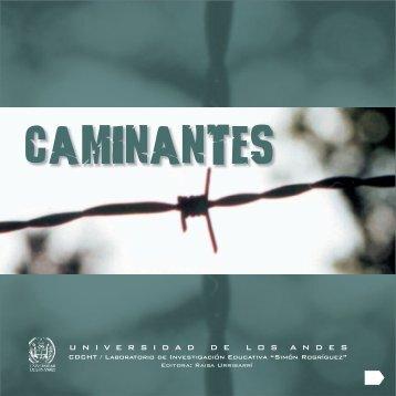 CAMINANTES FINAL.cdr - Saber ULA - Universidad de Los Andes