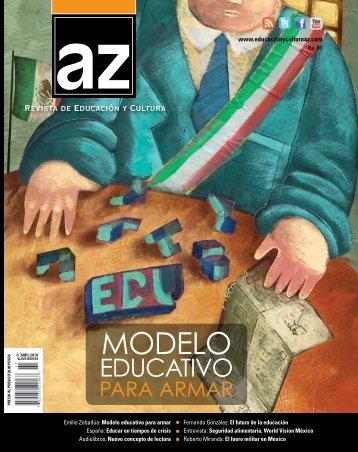 N° 61 (2012) - Revista AZ, Portal de Educación y Cultura en México.