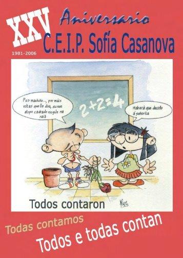 Revista XXV Aniversario CEIP Sofía Casanova