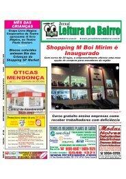 Edição Outubro/2010 - Jornal Leitura do Bairro