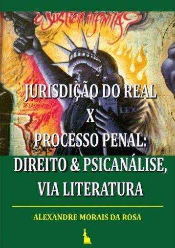 Jurisdição do Real x Controle Penal: Direito & Psicanálise, via ...
