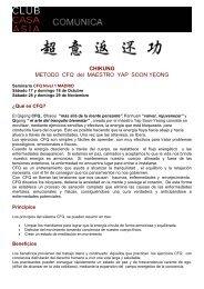 Método CFQ del maestro Yap - Casa Asia