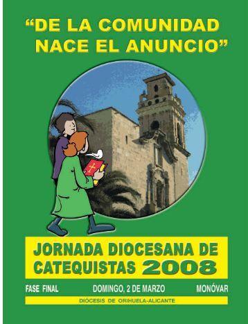 jornada diocesana 2008 - Diócesis de Orihuela-Alicante