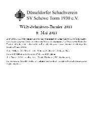Willy-Schmitter-Turnier 2013 9. Mai 2013