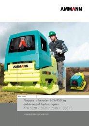 Plaques vibrantes entièrement hydrauliques APH 5020 ... - Ammann