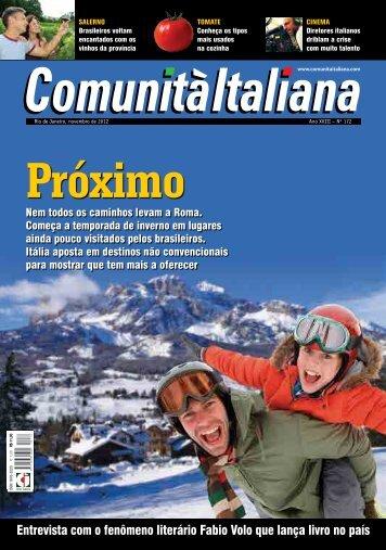 Comunitá Italiana - 4º Seminário Nacional de Tomate de Mesa
