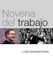 Novena del trabajo - Saint Josemaria Escriva