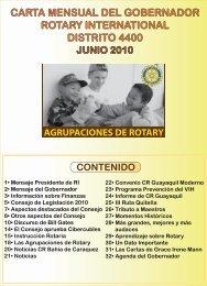 Descargar carta mensual - Rotary International