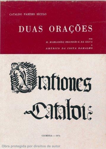 Obra protegida por direitos de autor - Universidade de Coimbra