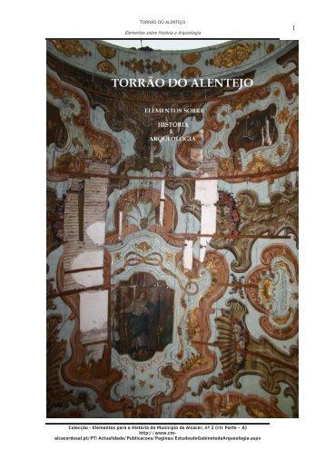 Elementos sobre História e Arqueologia - Câmara Municipal de ...