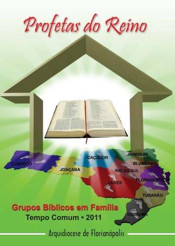 justiça e profecia a serviço da vida - Paróquia Santa Catarina